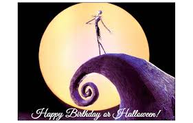 jack nightmare before christmas edible image cake topper birthday