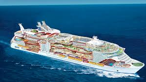 world s largest cruise ship flaunting futuristic features docks in