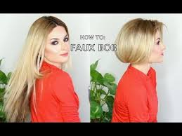 pictures of short hair do s back dise and front views best 25 fake short hair ideas on pinterest long hair buns how