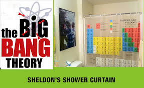 Periodic Table Shower Curtain Big Bang Theory Curtains Ideas Curtain Rod End Caps Inspiring Pictures Of