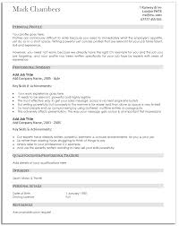 a guide to good traditional resume template good resume samples