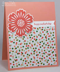 Mother S Day Greeting Card Handmade Mixed Bunch Mother U0027s Day Card Ink It Up With Jessica Card