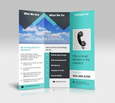 best of 2 fold brochure template free pikpaknews