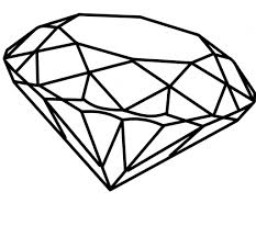 3d diamond drawing coloring coloring pages and kid on pinterest
