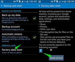 how to reset an android how to wipe an android phone completely ubergizmo