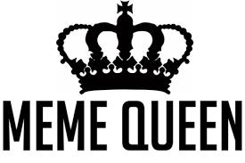 Meme Queen - meme queen unisex t shirt white cotton 8bitjapan