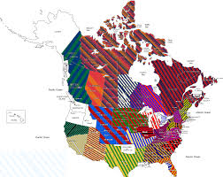 Tv Reception Map Nhl Blackout Map Graphic New Nhl Divisions By Tv Coverage Zone