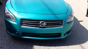 matte teal car matte teal nissan maxima youtube
