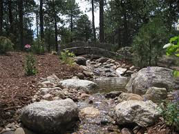 stream landscaping pond and waterfall accent landscapes colorado