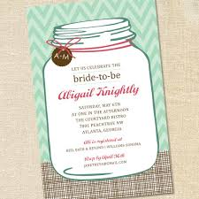 Make Your Own Bridal Shower Invitations Mason Jar Bridal Shower Invitations Marialonghi Com
