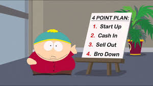eric cartman start up in sell out bro