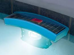 solar swimming pool lights solar powered swimming pool lights show water temperature too