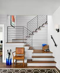 Modern Stair Banister Best 25 Modern Stair Railing Ideas On Pinterest Modern Railing