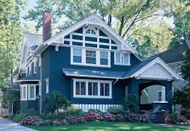 exterior paint colors blue red house exteriors house color