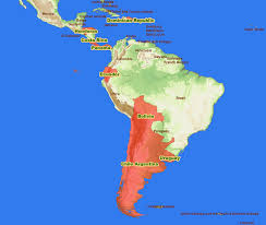 map of america with country names cdm project central and south america map