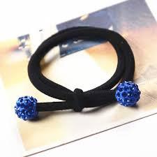 1pcs shamballa hair accessories for headband elastic