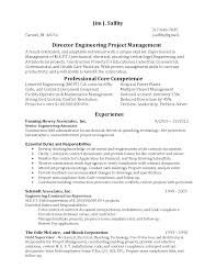 Resume Sample Program Manager by Helpful Director Engineering Project Manager Resume Template With