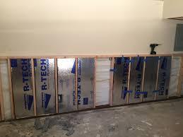 diy project basement insulation upgrade after flood insulfoam