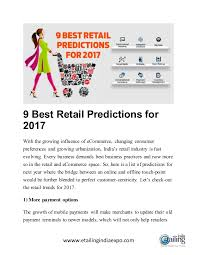 4 payments predictions for 2017 best retail predictions for 2017