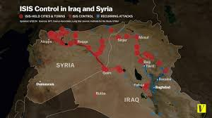 Isis Syria Map by 14 Maps That Explain Isis Vox