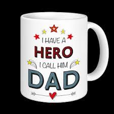 mug design for him father s day mug i have a hero i call him dad express mugs