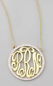 Monogram Initials Necklace 111 Best Monograms Images On Pinterest Wedding Monograms