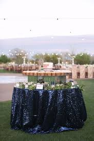 Table Cloth Rental by Inspiration U2013 Sequins More Than Just Gold U2013 Ultrapom Wedding And