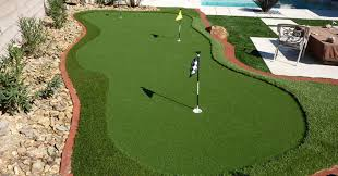 Putting Turf In Backyard Putting Greens In Las Vegas