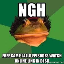 Bachelor Frog Meme - ngh free c lazlo episodes watch online link in desc foul
