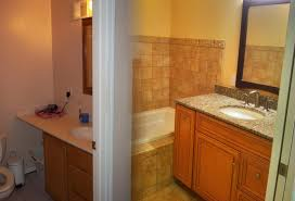 bathroom the best preparation remodels before and design before the renovation after that using permanent bathroom wooden frame mirror white