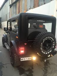 modified mahindra jeep for sale in kerala custom mahindra thar by revheads chandigarh