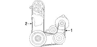 1999 honda accord alternator parts com honda accord belts oem parts