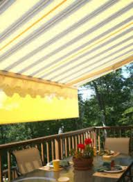 Awnings Usa Retractable Awnings Pittsburgh Pa Deck King Usa