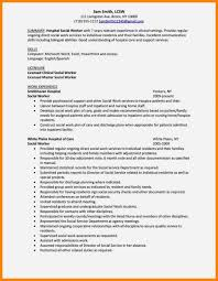 social work resume examples sample free worker template aust saneme