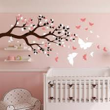 decoration chambre fille papillon deco chambre bebe fille gris motif chambre bebe deco chambre