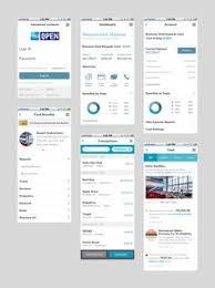 american express open application design case study web design