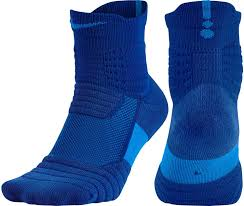 nike elite versatility high quarter basketball socks s