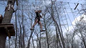 video of ropes course at skytop youtube