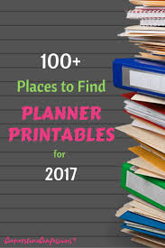 homemade planner templates 239 best planner love images on pinterest planner ideas happy 100 places to find 2017 planner printables