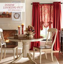 curtains sets valances panels living room kitchen country door