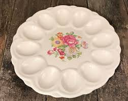 egg platter egg platter etsy