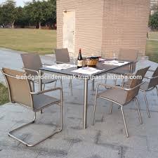 Outdoor Stainless Steel Furniture Tubular Steel Outdoor Furniture Wholesale Outdoor Furniture