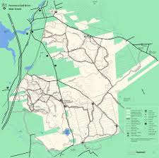 Bridgewater State University Map by Freetown Fall River State Forest Maplets