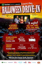 halloween drive in movies vancouver 2015