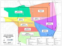 Jackson Michigan Map by Fire Hydrant Flushing Begins Sept 19 Could Affect Laundry Roads