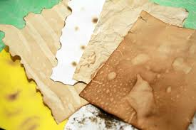 Tea Staining With Pictures make paper look old dark colors orange juice and mysterious