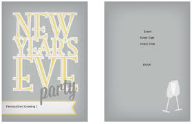 10 free new year u0027s eve party invitation templates