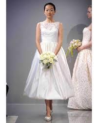 tea length wedding dress tea length wedding dresses fall 2013 martha stewart weddings
