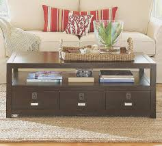coffe table top diy pottery barn coffee table design decorating