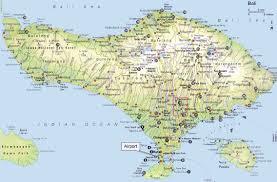bali indonesia map map of bali travel